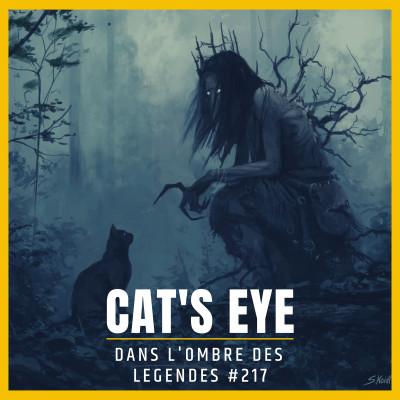 Dans l'ombre des légendes-217 Cat's eye... cover