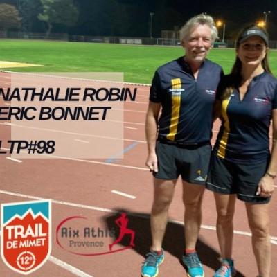 """LTP#98 NATHALIE ROBIN ET ERIC BONNET """"AIX ATHLE ET TRAIL DE MIMET"""" cover"""