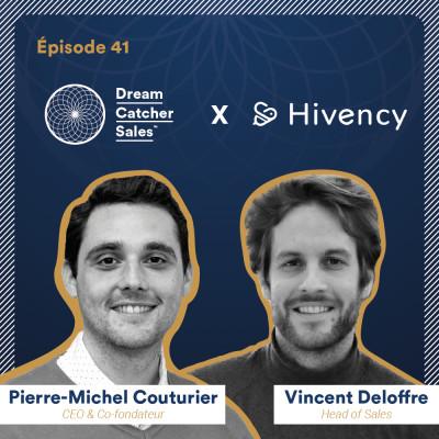 #41 Hivency : Quelles stratégies et équipes commerciales pour conquérir le marché international ? avec Vincent Deloffre, Head of Sales cover