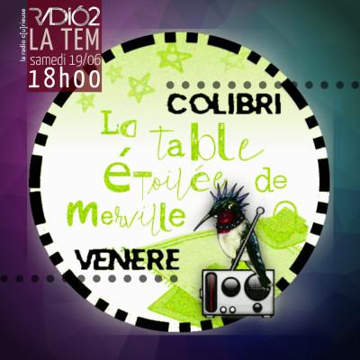 COLIBRI VENERE : La Table Etoilée de Merville cover
