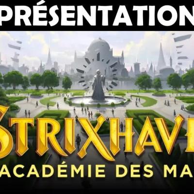 Présentation de Strixhaven ! TOUT savoir sur le nouveau set magique de... Magic: The Gathering cover