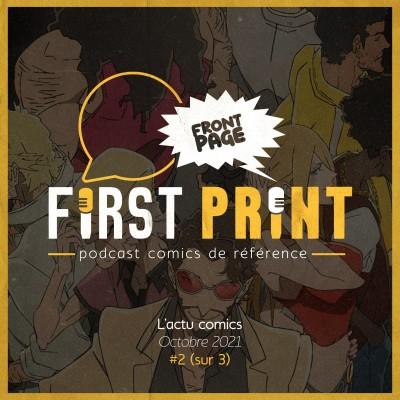 Front Page : l'actualité comics d'octobre 2021 #2 (sur 3) ! cover