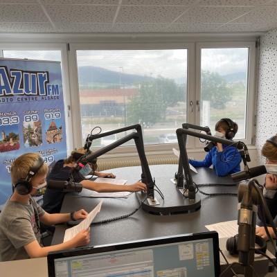 ATELIER RADIO - DU 12 AU 15 JUILLET 2021 - ACTIVITÉS ESTIVALES cover