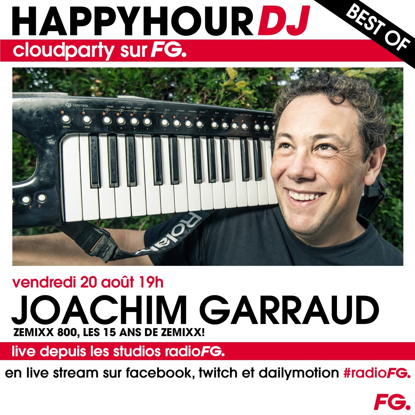 HAPPY HOUR DJ BEST OF : JOACHIM GARRAUD