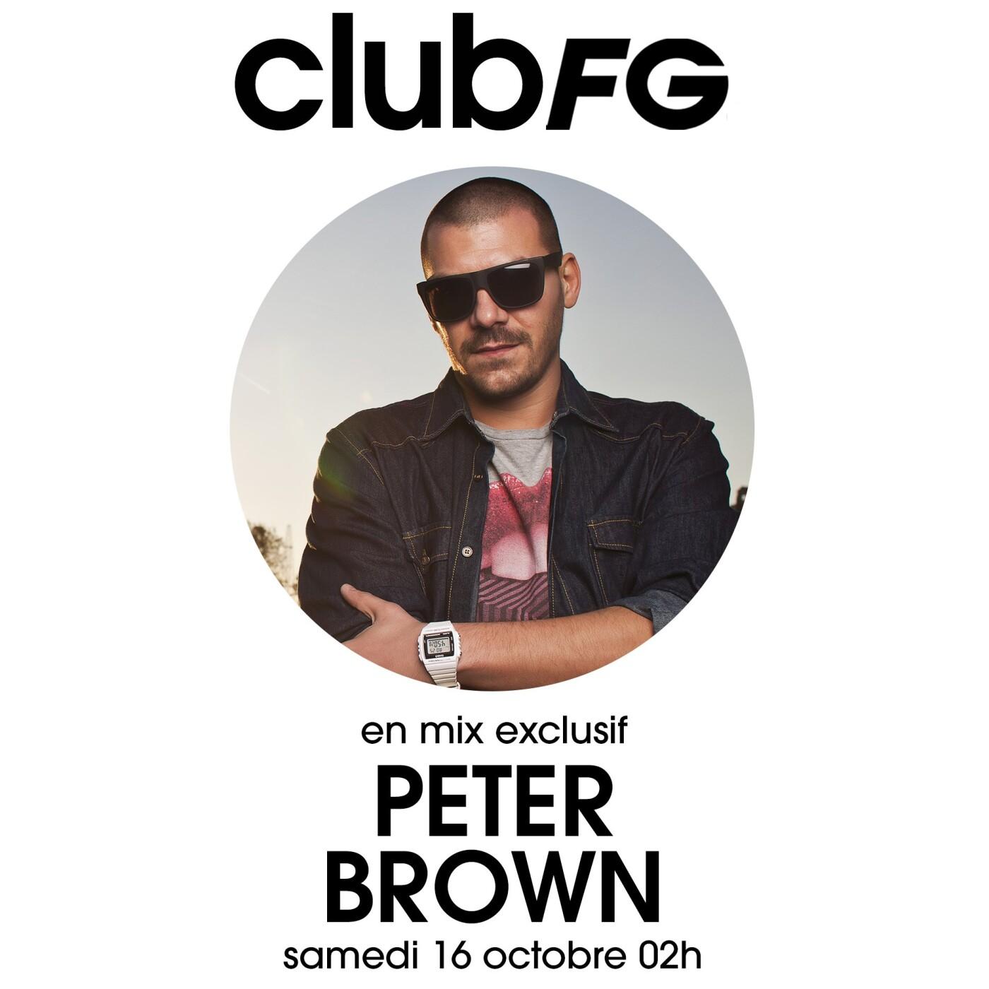 CLUB FG : PETER BROWN