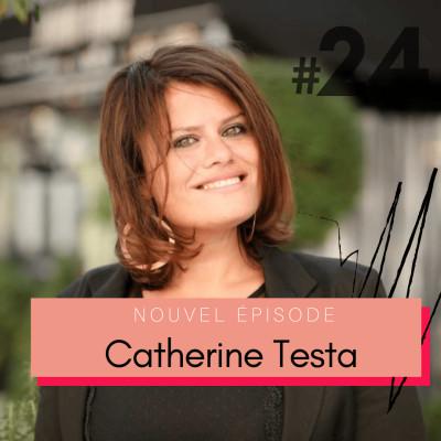 #24 Catherine Testa, fondatrice de L'Optimisme – « Tout projet n'est pas un marathon mais un sprint » cover