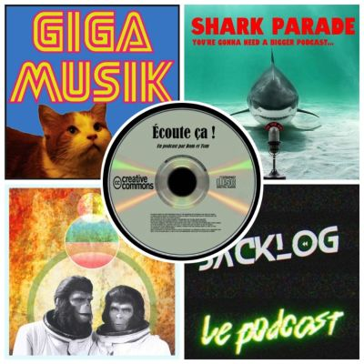 Ep 31 : Zikdepod 3 ( Cornelius & Zira, Shark Parade, Giga Musik, Backlog) cover
