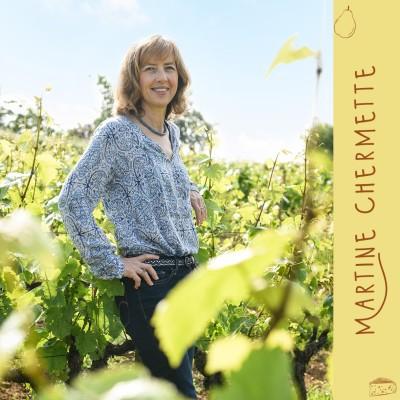 Ep 8 - Martine Chermette, gérante de la société de commercialisation du Domaine Chermette, une exploitation viticole au sud du Beaujolais cover