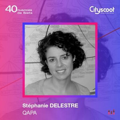 Stéphanie Delestre - Qapa : la curiosité comme guide de vie cover