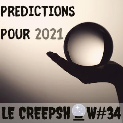 Creepshow #33 : Prédictions pour 2021 cover
