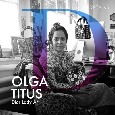 "[Lady Art] Olga Titus on Creating an ""Emotional Community"" Around the Lady Dior Bag cover"