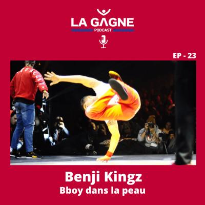 EP 23 - Benji Kingz, Bboy dans la peau cover