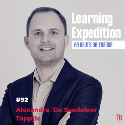 #92 - Alexandre De Saedeleer /// De champion de Hockey sur gazon à CEO d'une agence digitale européenne - Agence Tapptic cover