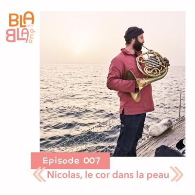 Nicolas, le cor dans la peau cover