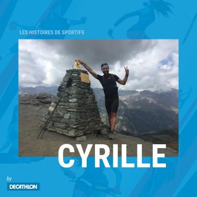 """# Hors Série - Trail - """"Et si un jour, je courais 330 km""""…. L'Aventure du Tor des Géants ! Cyrille cover"""