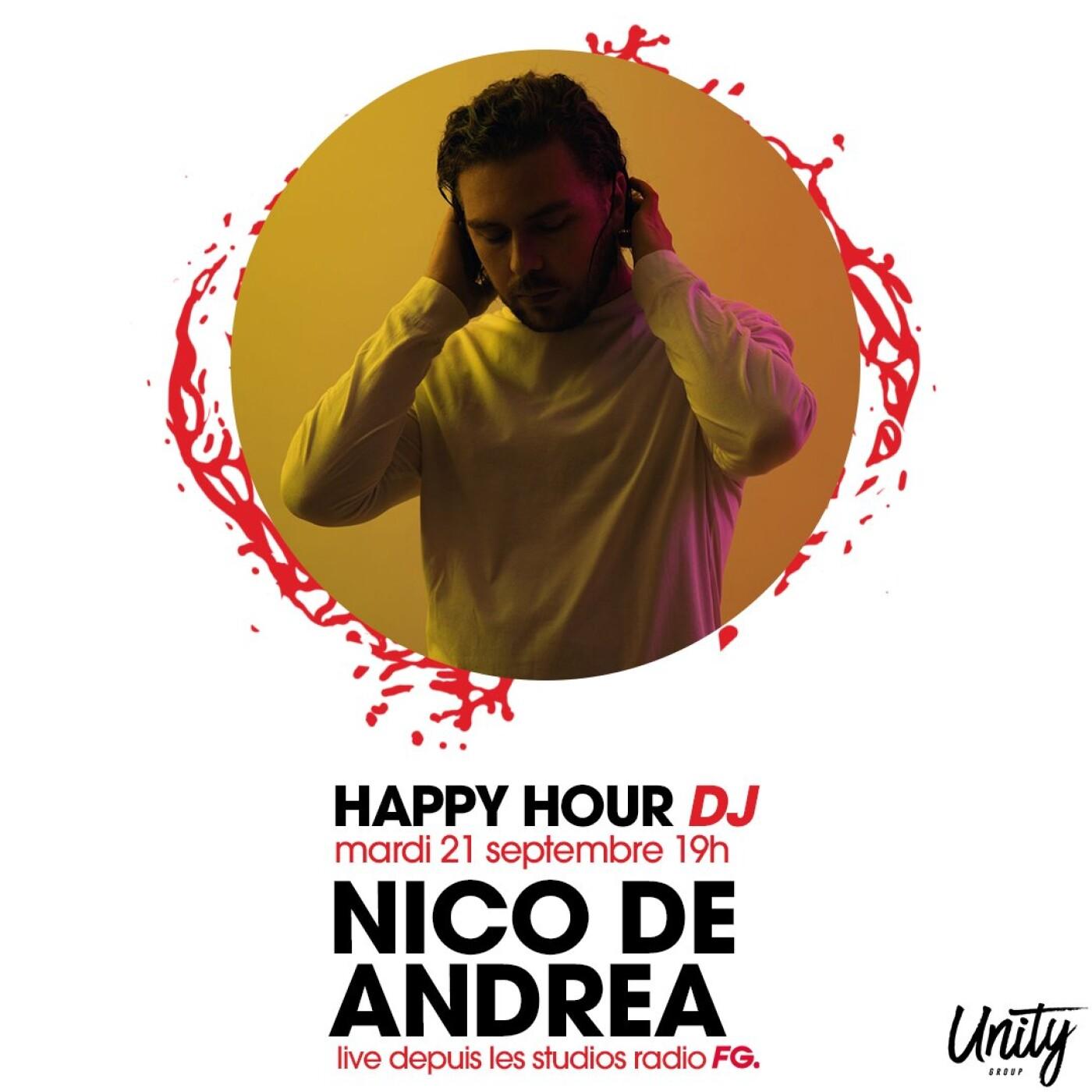 HAPPY HOUR DJ : NICO DE ANDREA