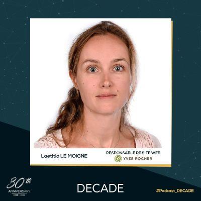 image EP25: Laetitia Le Moigne, Head of Website d'Yves Rocher