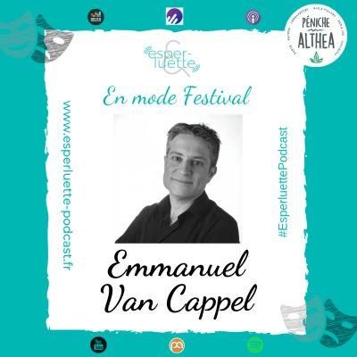 "Emmanuel Van Cappel - Elle ... émoi - Esperluette ""En mode Festival"" cover"