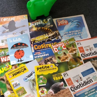 image Quels sont animaux font la une dans les magazines pour enfants ?  itw de Christophe Patris