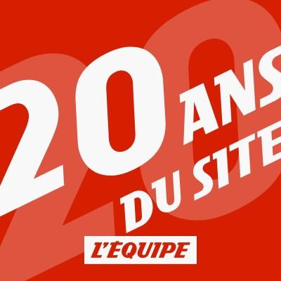 Image of the show Le 20e anniversaire du site L'Equipe