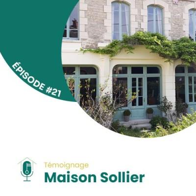 #21 - Rencontre avec Claire Dubos de Maison Sollier cover