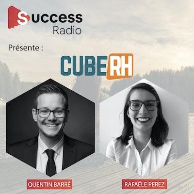 Quentin Barré et Rafaële Perez, créateur et chef de projet développement commercial et image Cube RH cover