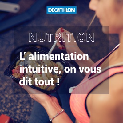 # 34 Nutrition - L'alimentation intuitive, on vous dit tout ! cover