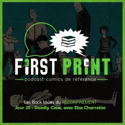Les Back Issues du Reconfinement - Jour 25 : Deadly Class, avec Elsa Charretier cover