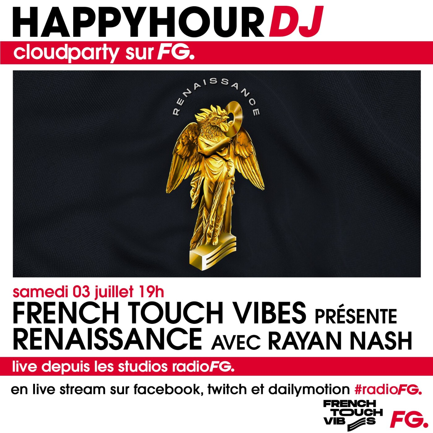 HAPPY HOUR : FRENCH TOUCH VIBES