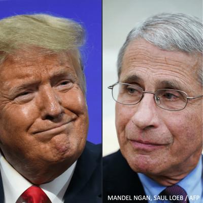 [REDIFF] Covid-19 : Doctor Fauci & Mister Trump cover