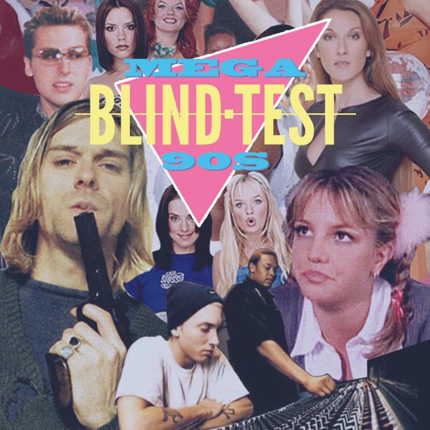 Mega Blind Test 90s : épisode anniversaire. Jouez avec Radio K7 au 1er podcast interactif français !