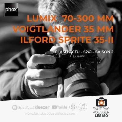 FLASH ACTU - S201 - Lumix, Voigtlander, Ilford cover