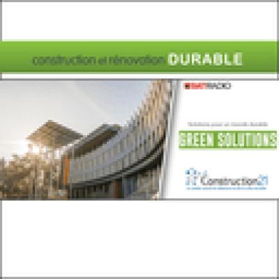 Le Technopole de Schneider Electric de Grenoble - Green Solutions : solutions pour un monde durable cover