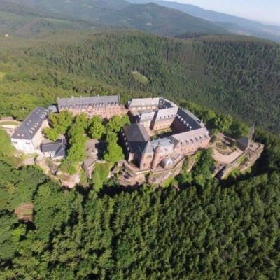 Découvrez le Mont Sainte-Odile en Alsace cover