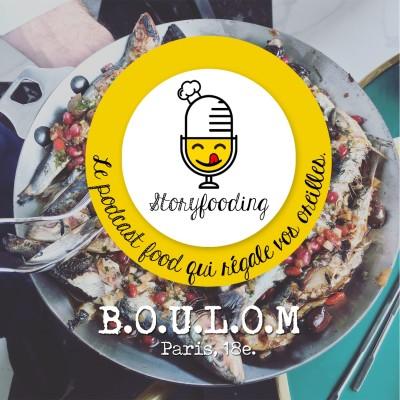 @B.O.U.L.O.M, Paris 18e:  Le festin culinaire caché derrière la boulangerie de Julien Duboué. cover