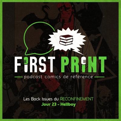 Les Back Issues du Reconfinement - Jour 23 : Hellboy cover