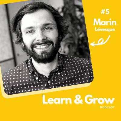 #5 Marin Lévesque (Humind School) : Créer une école de vente nouvelle génération cover