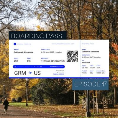Boarding Pass 017 ✈️ Aes Dana et Jupiter Himself cover