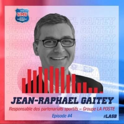 #4 Jean Raphael Gaitey - Responsable partenariat sportifs -Groupe La Poste cover