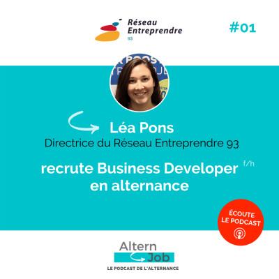 Léa Pons, directrice du Réseau entreprendre 93 - Ep01 cover