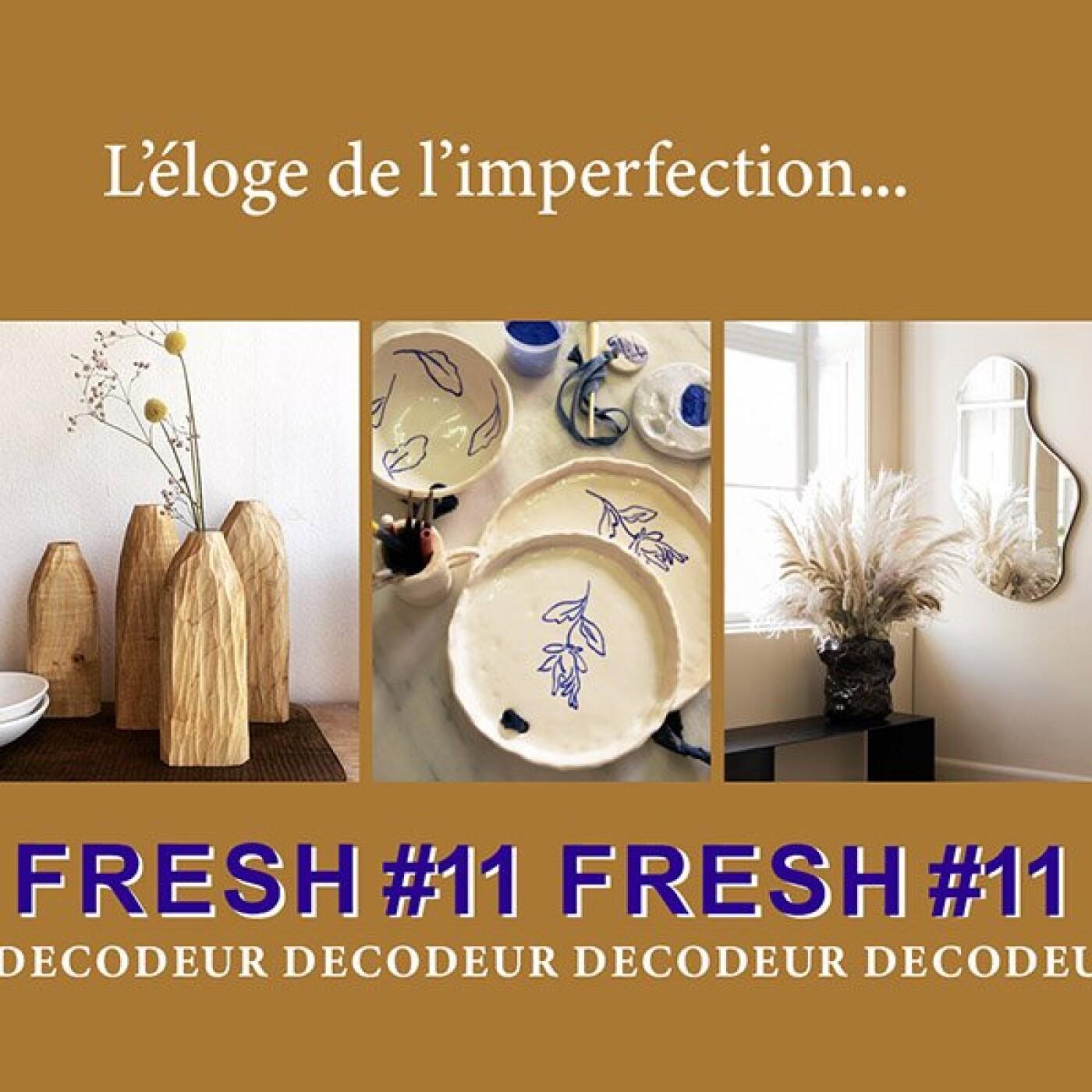 """FRESH #11 la tendance déco du mois : """"L'éloge de l'imperfection"""" décrypté par le bureau de style LE NOMBRIL"""