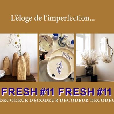 """FRESH #11 la tendance déco du mois : """"L'éloge de l'imperfection"""" décrypté par le bureau de style LE NOMBRIL cover"""