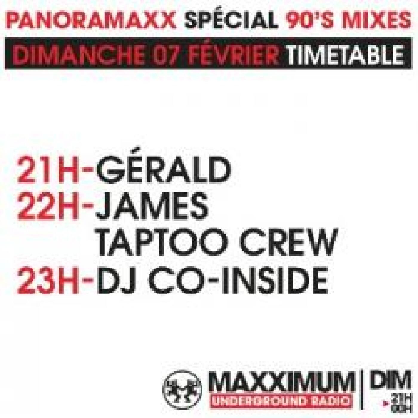 PANORAMAXX 90'S : DJ CO-INSIDE