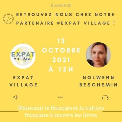 Nolween donne des conseils pour maintenir le Français et sa culture à travers les livres - 14 10 2021 - StereoChic Radio cover