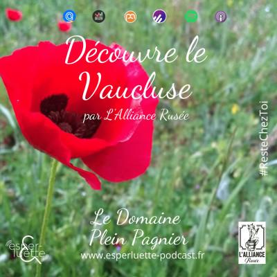 Domaine Plein Pagnier à Mazan par L'Alliance Rusée - Découvre le Vaucluse #ResteChezToi cover