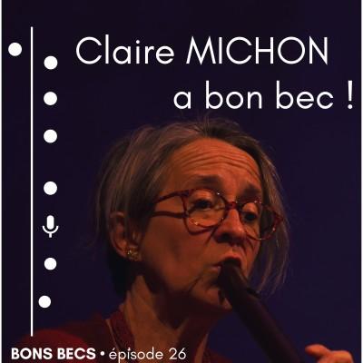 Épisode 26 • Claire MICHON a bon bec cover