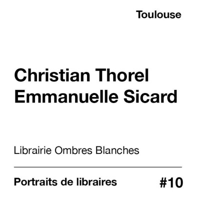 Portraits de libraires - Ombres Blanches cover