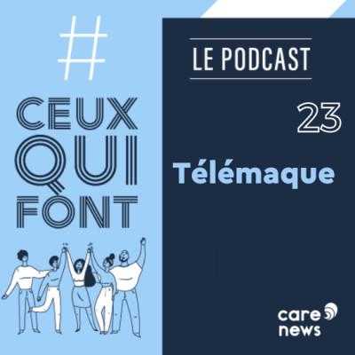 #CeuxQuiFont : Ericka Cogne, Télémaque cover