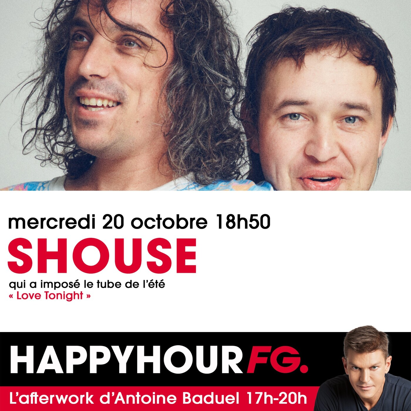HAPPY HOUR INTERVIEW : SHOUSE