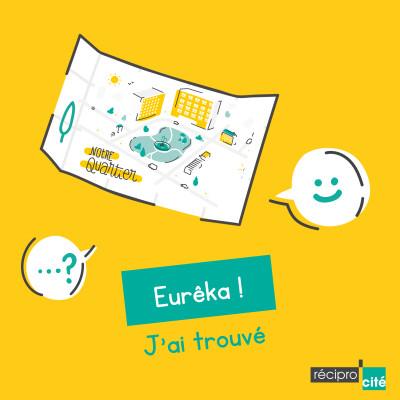 """""""Eurêka, j'ai trouvé"""" de Récipro-Cité - Lauréat du concours C dans le son cover"""